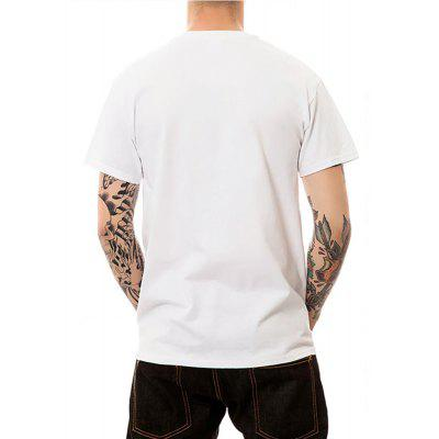 Summer Mens Short Sleeve Digital Printing Large-Code T-ShirtsMens Short Sleeve Tees<br>Summer Mens Short Sleeve Digital Printing Large-Code T-Shirts<br><br>Fabric Type: Modal<br>Material: Modal<br>Neckline: Round Collar<br>Package Content: 1 ? T-shirt<br>Package size: 1.00 x 1.00 x 1.00 cm / 0.39 x 0.39 x 0.39 inches<br>Package weight: 0.1800 kg<br>Pattern Type: Print<br>Product weight: 0.1700 kg<br>Season: Summer<br>Sleeve Length: Short Sleeves<br>Style: Sport, Fashion