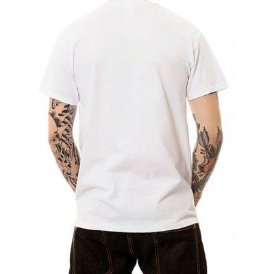 Summer Mens Short Sleeve Digital Printing Large-Code T-ShirtsMens Short Sleeve Tees<br>Summer Mens Short Sleeve Digital Printing Large-Code T-Shirts<br><br>Fabric Type: Modal<br>Material: Modal<br>Neckline: Round Collar<br>Package Content: 1 ? T-shirt<br>Package size: 1.00 x 1.00 x 1.00 cm / 0.39 x 0.39 x 0.39 inches<br>Package weight: 0.2100 kg<br>Pattern Type: Print<br>Product weight: 0.2000 kg<br>Season: Summer<br>Sleeve Length: Short Sleeves<br>Style: Sport, Fashion