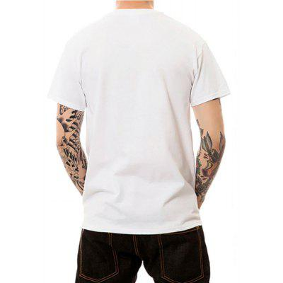 Summer Mens Large Short Sleeved Digital Printing T-ShirtsMens Short Sleeve Tees<br>Summer Mens Large Short Sleeved Digital Printing T-Shirts<br><br>Fabric Type: Modal<br>Material: Modal<br>Neckline: Round Collar<br>Package Content: 1 ? T-shirt<br>Package size: 1.00 x 1.00 x 1.00 cm / 0.39 x 0.39 x 0.39 inches<br>Package weight: 0.1900 kg<br>Pattern Type: Print<br>Product weight: 0.1800 kg<br>Season: Summer<br>Sleeve Length: Short Sleeves<br>Style: Sport, Fashion