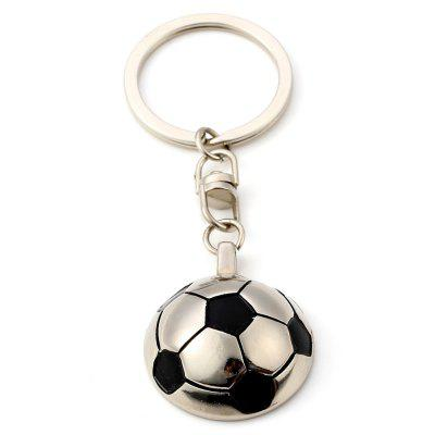 Creative Football Metal Key ChainKey Chains<br>Creative Football Metal Key Chain<br><br>Design Style: Fashion, Romantic<br>Gender: Boys,Girls<br>Materials: Metal<br>Package Contents: 1 x Key Chain<br>Package size: 4.00 x 2.00 x 1.00 cm / 1.57 x 0.79 x 0.39 inches<br>Package weight: 0.0400 kg<br>Product size: 3.30 x 1.20 x 0.30 cm / 1.3 x 0.47 x 0.12 inches<br>Product weight: 0.0300 kg<br>Theme: Sports