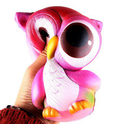 все цены на Owl Jumbo Squishy Slow Rising Straps Scented Bread Cake Kids Toy