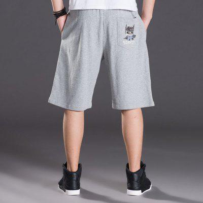 2018 Mens Fashion Large Size Loose Knit ShortsMens Shorts<br>2018 Mens Fashion Large Size Loose Knit Shorts<br><br>Material: Cotton, Polyester<br>Occasion: Daily Use, Sports, Casual, Going Out<br>Package Contents: 1 X Pair of Shorts<br>Package size: 1.00 x 1.00 x 1.00 cm / 0.39 x 0.39 x 0.39 inches<br>Package weight: 0.2000 kg<br>Product weight: 0.2000 kg<br>Style: Casual, Hip-Hop, Sports<br>Thickness: Regular