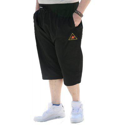 2018 Mens Fashion Large Size Seven PantsMens Shorts<br>2018 Mens Fashion Large Size Seven Pants<br><br>Material: Cotton<br>Occasion: Daily Use, Sports, Casual, Going Out<br>Package Contents: 1 X  Pair of Shorts<br>Package size: 1.00 x 1.00 x 1.00 cm / 0.39 x 0.39 x 0.39 inches<br>Package weight: 0.2000 kg<br>Pattern: Solid Color<br>Product weight: 0.2000 kg<br>Style: Casual, Hip-Hop, Sports<br>Thickness: Regular