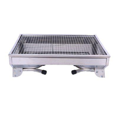 Outdoor Charcoal Courtyard BBQ Stainless Steel Barbecue Frame outdoor bbq barbecue fan air blower 4 x aa