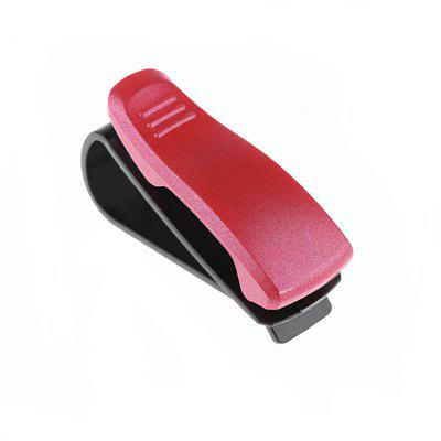 Car Sun Visor Glasses Sunglasses Ticket Receipt Card Clip Storage Holder MountOther Car Gadgets<br>Car Sun Visor Glasses Sunglasses Ticket Receipt Card Clip Storage Holder Mount<br><br>Material: ABS<br>Package Contents: 1 x Sunglasses Clip<br>Package size (L x W x H): 15.00 x 5.00 x 4.00 cm / 5.91 x 1.97 x 1.57 inches<br>Package weight: 0.0240 kg<br>Product size (L x W x H): 6.70 x 2.50 x 3.40 cm / 2.64 x 0.98 x 1.34 inches<br>Product weight: 0.0140 kg