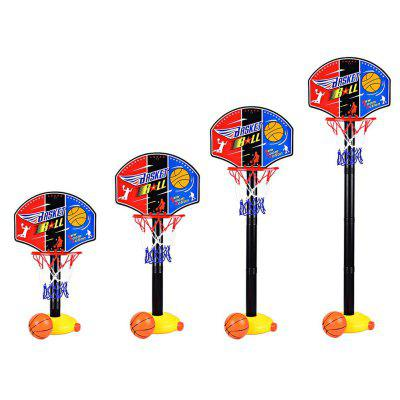Portable Kids Basketball Stand Set Basket Hoop Backboard Net Play Game Toy SportNovelty Toys<br>Portable Kids Basketball Stand Set Basket Hoop Backboard Net Play Game Toy Sport<br><br>Features: Creative Toy<br>Materials: Plastic<br>Package Contents: 1 x Set of Basketball Stand, 1 x Basket Ball, 1 x Inflator<br>Package size: 39.00 x 28.50 x 6.50 cm / 15.35 x 11.22 x 2.56 inches<br>Package weight: 0.5000 kg<br>Product size: 110.00 x 11.00 x 23.00 cm / 43.31 x 4.33 x 9.06 inches<br>Product weight: 0.4500 kg<br>Series: Entertainment<br>Theme: Sports