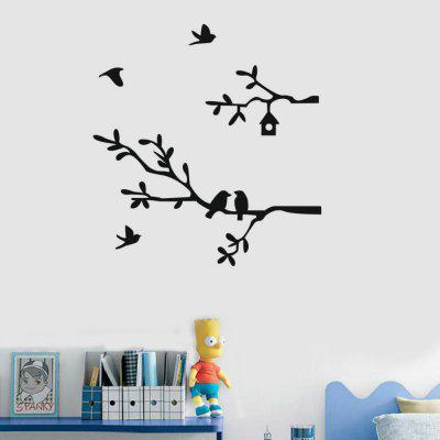 Forest Animals Tree Wall Wtickers for Kids Room  DecorWall Stickers<br>Forest Animals Tree Wall Wtickers for Kids Room  Decor<br><br>Function: Decorative Wall Sticker<br>Material: Vinyl(PVC)<br>Package Contents: 1 x Wall Sticker<br>Package size (L x W x H): 37.00 x 3.00 x 3.00 cm / 14.57 x 1.18 x 1.18 inches<br>Package weight: 0.0600 kg<br>Product size (L x W x H): 56.00 x 37.00 x 0.10 cm / 22.05 x 14.57 x 0.04 inches<br>Product weight: 0.0500 kg<br>Quantity: 1<br>Subjects: Fashion,Leisure,Holiday,Flower,Botanical,Famous,Landscape<br>Suitable Space: Garden,Living Room,Bathroom,Bedroom,Dining Room,Office,Hotel,Cafes,Kids Room<br>Type: Plane Wall Sticker