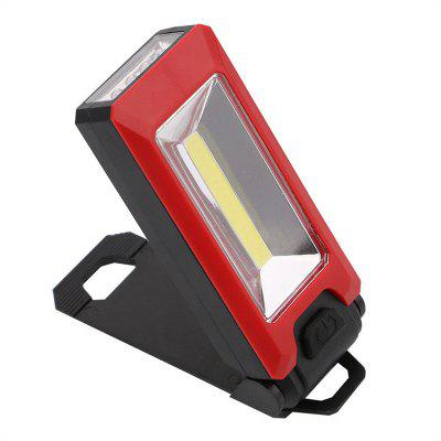 LED Work Light Magnetic Folding Hook Hanging Flashlight Non-slip Torch powerful portable 3000 lumens cob led flashlight magnetic rechargeable work light 360 degree stand hanging torch lamp for work