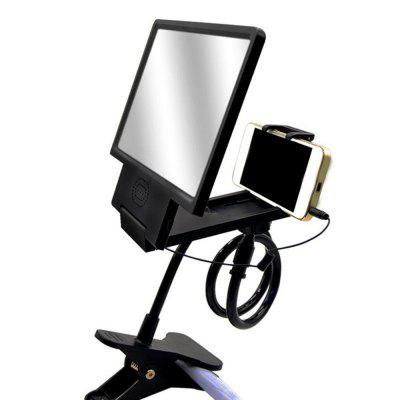 Portable 3D HD Phone Screen Magnifier Movies Amplifier with StandStands &amp; Holders<br>Portable 3D HD Phone Screen Magnifier Movies Amplifier with Stand<br><br>Color: Black,Blue<br>Features: Telescopic, ALL-in-1, Detachable, Flexible, Rotatable, Adjustable Stand, Stand with Speaker<br>Material: Metal, ABS<br>Package Contents: 1 x Phone Screen Amplifier. 1 x Phone Holder<br>Package size (L x W x H): 25.00 x 20.00 x 8.00 cm / 9.84 x 7.87 x 3.15 inches<br>Package weight: 0.5000 kg<br>Product size (L x W x H): 20.00 x 18.50 x 2.00 cm / 7.87 x 7.28 x 0.79 inches<br>Product weight: 0.3600 kg<br>Type: Mobile Holder