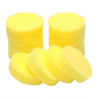 12PCS Waxing Polish Wax Foam Sponge Applicator Pads Fit for Clean Car VehicleSponges &amp; Scrubbers<br>12PCS Waxing Polish Wax Foam Sponge Applicator Pads Fit for Clean Car Vehicle<br><br>Available Color: Yellow<br>Materials: Sponge<br>Package Contents: 12 x Waxing Sponge<br>Package size (L x W x H): 30.00 x 22.00 x 8.00 cm / 11.81 x 8.66 x 3.15 inches<br>Package weight: 0.0700 kg<br>Product size (L x W x H): 29.00 x 20.00 x 6.60 cm / 11.42 x 7.87 x 2.6 inches<br>Product weight: 0.0600 kg<br>Types: Sponges and Scrubbers
