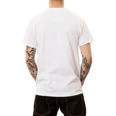 Mens Digital Print Short Sleeved Summer Large Code T-ShirtsMens Short Sleeve Tees<br>Mens Digital Print Short Sleeved Summer Large Code T-Shirts<br><br>Fabric Type: Modal<br>Material: Modal<br>Neckline: Round Collar<br>Package Content: 1 ? T-shirt<br>Package size: 1.00 x 1.00 x 1.00 cm / 0.39 x 0.39 x 0.39 inches<br>Package weight: 0.1800 kg<br>Pattern Type: Animal<br>Product weight: 0.1700 kg<br>Season: Summer<br>Sleeve Length: Short Sleeves<br>Style: Sport, Fashion