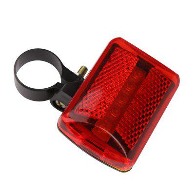 5 LED Red Bike Light Bicycle Accessories Cycling Tail Rear wh 22 waterproof 5 led 7 mode red light bike tail light w clip red black 2 x cr2032