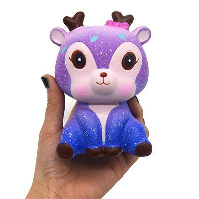 все цены на Jumbo Squishy Cream Scented Sika Deer Slow Rising Toy