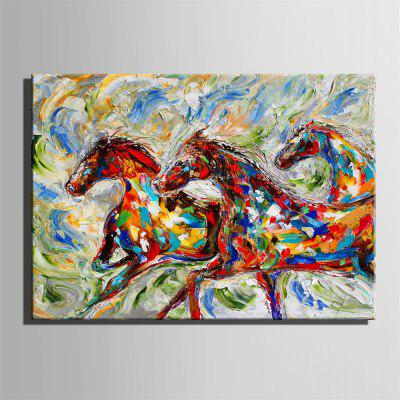 Special Design Frameless Running Horse Paintings Style Running PrintPrints<br>Special Design Frameless Running Horse Paintings Style Running Print<br><br>Craft: Print<br>Form: One Panel<br>Material: Canvas<br>Package Contents: 1 x Print<br>Package size (L x W x H): 26.00 x 37.00 x 2.00 cm / 10.24 x 14.57 x 0.79 inches<br>Package weight: 0.6000 kg<br>Painting: Include Inner Frame<br>Product size (L x W x H): 24.00 x 34.00 x 1.50 cm / 9.45 x 13.39 x 0.59 inches<br>Product weight: 0.5000 kg<br>Shape: Horizontal Panoramic<br>Style: Fashion, Hipster, Active, Casual<br>Subjects: Fashion<br>Suitable Space: Indoor,Outdoor,Cafes,Kids Room,Kids Room,Study Room / Office