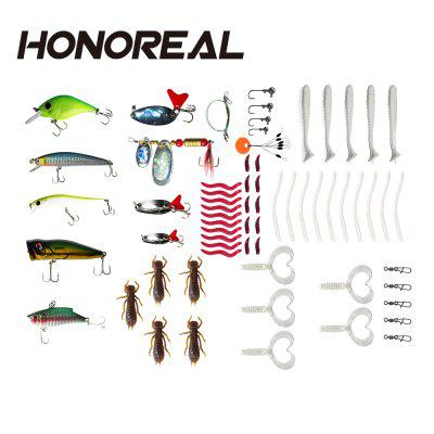 HONOREAL Spoon Spinner Fishing Lure Set with Hooks 5g 15g 20g Metal Baits metal spinners spoon fishing lure 0 5g 0 8g 5pcs fly fishing wobblers spinner baits with jig head fishing accessories pesca