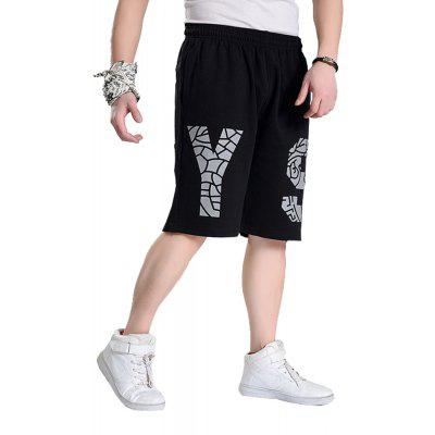 2018 Mens Fashion Letters Large Size Loose in ShortsMens Shorts<br>2018 Mens Fashion Letters Large Size Loose in Shorts<br><br>Material: Cotton, Polyester<br>Occasion: Daily Use, Sports, Casual, Going Out<br>Package Contents: 1 x Pair of Shorts<br>Package size: 1.00 x 1.00 x 1.00 cm / 0.39 x 0.39 x 0.39 inches<br>Package weight: 0.2000 kg<br>Pattern: Solid Color<br>Product weight: 0.2000 kg<br>Style: Sports, Hip-Hop, Casual<br>Thickness: Regular
