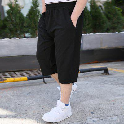 2018 Mens Fashion Large Size Loose Pure Color Seven-Point PantsMens Shorts<br>2018 Mens Fashion Large Size Loose Pure Color Seven-Point Pants<br><br>Material: Cotton<br>Occasion: Daily Use, Casual , Going Out<br>Package Contents: 1 x Pair of Shorts<br>Package size: 1.00 x 1.00 x 1.00 cm / 0.39 x 0.39 x 0.39 inches<br>Package weight: 0.2000 kg<br>Product weight: 0.2000 kg<br>Style: Sports, Casual, Hip-Hop<br>Thickness: Regular