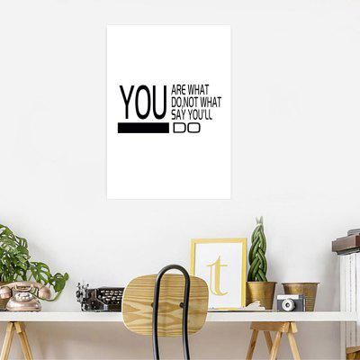 W313 Letters Unframed Wall Canvas Prints for Home DecorationsPrints<br>W313 Letters Unframed Wall Canvas Prints for Home Decorations<br><br>Craft: Print<br>Form: One Panel<br>Material: Canvas<br>Package Contents: 1 x Print<br>Package size (L x W x H): 33.00 x 5.00 x 5.00 cm / 12.99 x 1.97 x 1.97 inches<br>Package weight: 0.0400 kg<br>Painting: Without Inner Frame<br>Product size (L x W x H): 28.00 x 40.00 x 1.00 cm / 11.02 x 15.75 x 0.39 inches<br>Product weight: 0.0370 kg<br>Shape: Vertical<br>Style: European Style, Artistic Style, Fashion, Novelty<br>Subjects: Letter<br>Suitable Space: Living Room,Dining Room,Office,Hotel,Cafes