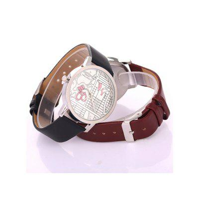 Fashion Women Large Dial Quartz Watch Leather Sport WatchesWomens Watches<br>Fashion Women Large Dial Quartz Watch Leather Sport Watches<br><br>Band material: PU<br>Band size: 23x2cm<br>Case material: Stainless Steel<br>Clasp type: Buckle<br>Dial size: 3.8x3.8x0.9cm<br>Display type: Analog<br>Movement type: Quartz watch<br>Package Contents: 1 x Watch,1 x Box<br>Package size (L x W x H): 8.00 x 8.00 x 8.00 cm / 3.15 x 3.15 x 3.15 inches<br>Package weight: 0.0550 kg<br>Product size (L x W x H): 23.00 x 3.80 x 0.90 cm / 9.06 x 1.5 x 0.35 inches<br>Product weight: 0.0250 kg<br>Shape of the dial: Round<br>Watch mirror: Mineral glass<br>Watch style: Fashion<br>Watches categories: Women<br>Water resistance: 10 meters