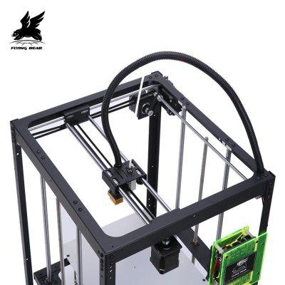 Flyingbear P905X Auto Leveling Full Metal Precision DIY 3D Printer Kit flsun 3d printer big pulley kossel 3d printer with one roll filament sd card fast shipping