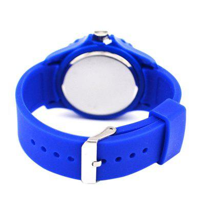 Russia Flag Pattern Silicone Strap Football Fan Souvenir Sports Wrist Watches sports law in russia monograph