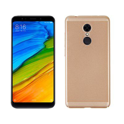 Case for Redmi 5 Heat Dissipation Frosted Back Cover Hard PCCases &amp; Leather<br>Case for Redmi 5 Heat Dissipation Frosted Back Cover Hard PC<br><br>Compatible Model: Redmi 5<br>Features: Back Cover, Button Protector, Anti-knock<br>Mainly Compatible with: Xiaomi<br>Material: PC<br>Package Contents: 1 x Phone Case<br>Package size (L x W x H): 20.00 x 10.00 x 1.00 cm / 7.87 x 3.94 x 0.39 inches<br>Package weight: 0.0280 kg<br>Product Size(L x W x H): 16.00 x 6.50 x 0.70 cm / 6.3 x 2.56 x 0.28 inches<br>Product weight: 0.0250 kg<br>Style: Solid Color, Grid Pattern, Cool, Round Dots