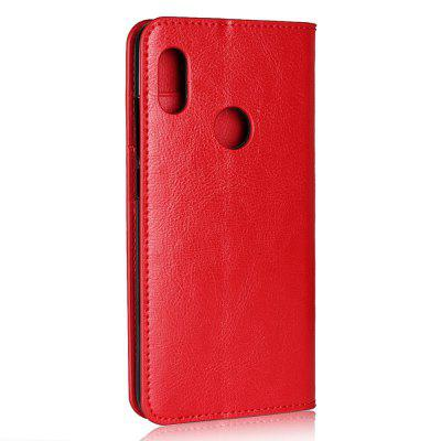 Genuine Leather Wallet Case Cover for Xiaomi Redmi Note 5 ProCases &amp; Leather<br>Genuine Leather Wallet Case Cover for Xiaomi Redmi Note 5 Pro<br><br>Compatible Model: Xiaomi Redmi Note 5 Pro<br>Features: Full Body Cases, With Credit Card Holder, Anti-knock<br>Mainly Compatible with: Xiaomi<br>Material: Genuine Leather, TPU<br>Package Contents: 1 x Phone Case<br>Package size (L x W x H): 19.00 x 10.00 x 1.80 cm / 7.48 x 3.94 x 0.71 inches<br>Package weight: 0.0800 kg<br>Product Size(L x W x H): 15.50 x 7.50 x 1.60 cm / 6.1 x 2.95 x 0.63 inches<br>Product weight: 0.0750 kg<br>Style: Solid Color, Special Design, Vintage