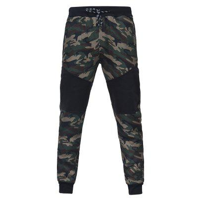Camo Stitching Casual Sports TrousersOutdoor Pants<br>Camo Stitching Casual Sports Trousers<br><br>Fit Type: Regular<br>Front Style: Pleated<br>Material: Polyester<br>Package Contents: 1xpants<br>Pant Length: Long Pants<br>Pant Style: Straight<br>Style: Casual<br>Waist Type: Mid<br>Weight: 0.3300kg