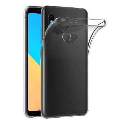 Transparent TPU Soft Phone Case for Xiaomi 6X / A2Cases &amp; Leather<br>Transparent TPU Soft Phone Case for Xiaomi 6X / A2<br><br>Color: Transparent<br>Features: Back Cover<br>Mainly Compatible with: Xiaomi<br>Material: TPU<br>Package Contents: 1 x TPU Case<br>Package size (L x W x H): 16.50 x 8.00 x 1.00 cm / 6.5 x 3.15 x 0.39 inches<br>Package weight: 0.0200 kg<br>Product Size(L x W x H): 16.00 x 7.70 x 0.90 cm / 6.3 x 3.03 x 0.35 inches<br>Product weight: 0.0180 kg