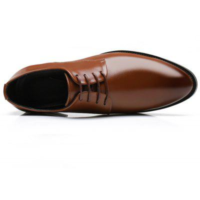 Mens Oxfords Leather Shoes Dress Formal Business Pointed Casual FashionFormal Shoes<br>Mens Oxfords Leather Shoes Dress Formal Business Pointed Casual Fashion<br><br>Contents: 1 x Pair of Shoes<br>Materials: Leather<br>Package Size ( L x W x H ): 30.00 x 20.00 x 10.00 cm / 11.81 x 7.87 x 3.94 inches<br>Package weight: 1.0000 kg<br>Product weight: 1.0000 kg<br>Type: Casual Leather Shoes