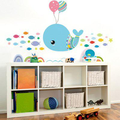 Dimensional Living Room Bedroom Engraving Handmade Whale Wall StickerWall Stickers<br>Dimensional Living Room Bedroom Engraving Handmade Whale Wall Sticker<br><br>Package Contents: 1 x  Wall Stickers<br>Package size (L x W x H): 27.00 x 3.50 x 3.50 cm / 10.63 x 1.38 x 1.38 inches<br>Package weight: 0.1000 kg<br>Product size (L x W x H): 85.00 x 26.00 x 0.01 cm / 33.46 x 10.24 x 0 inches<br>Product weight: 0.0600 kg