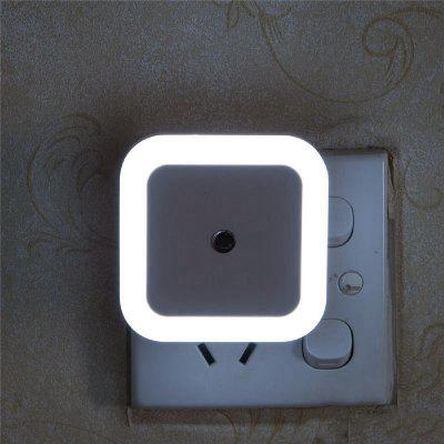US Mini LED 0.5W Control Auto Sensor Baby Bedroom Lamp Square Night LightNight Lights<br>US Mini LED 0.5W Control Auto Sensor Baby Bedroom Lamp Square Night Light<br><br>Color Temperature or Wavelength: 5000-6500K<br>Connector Type: US plug<br>Features: Decorative, Sensor<br>Initial Lumens ( lm ): 3<br>Light Source Color: White<br>Light Type: LED Night Light<br>Mini Voltage: 110-220V<br>Package Contents: 1 x LED Night Light<br>Package size (L x W x H): 8.00 x 8.00 x 7.00 cm / 3.15 x 3.15 x 2.76 inches<br>Package weight: 0.0400 kg<br>Power Source: AC<br>Product size (L x W x H): 6.50 x 6.50 x 2.80 cm / 2.56 x 2.56 x 1.1 inches<br>Product weight: 0.0350 kg<br>Quantity: 1<br>Style: Comtemporary<br>Wattage: 0.5W