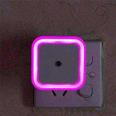 US Mini LED 0.5W Control Auto Sensor Baby Bedroom Lamp Square Night Light keyshare dual bulb night vision led light kit for remote control drones