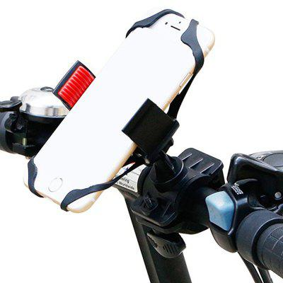 cell phone bicycle rack handlebar and motorcycle holder cradle