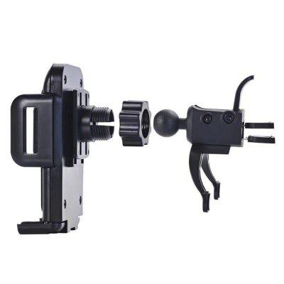 360 Degree Rotating Windshield Mount Bracket Phone Holder for Car tripod mount cell phone clipper vertical bracket smartphone clip holder 360 adapter for iphone new arrival