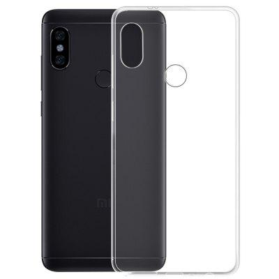 Transparent Slim Soft TPU Cover Case for Xiaomi Redmi Note 5 tpu protective case for xiaomi redmi note4x