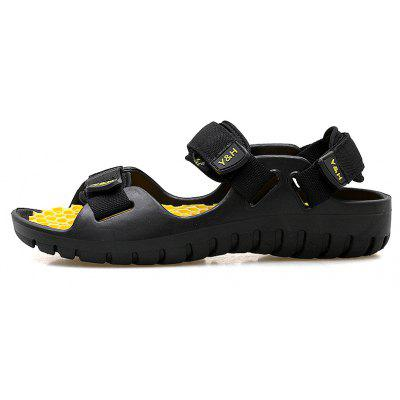 Summer Men's Outdoor Non-Slip Comfortable Breathable Sandals incognito curve fitting summer super comfortable breathable gather adjustable bra sexy