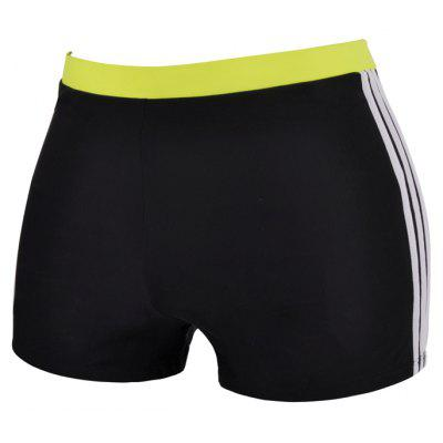 Man Stretch Comfortable Breathable Boxer Swimming Trunks