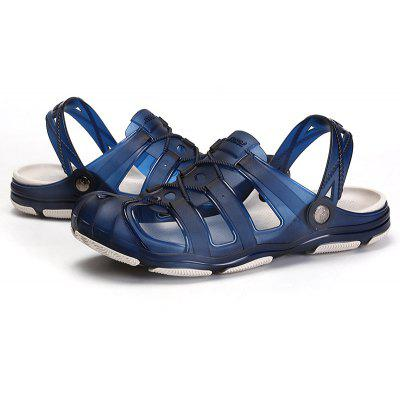 ZEACAVA Men Fashion Honeycomb Environmental Beach Breathable SlippersMens Sandals<br>ZEACAVA Men Fashion Honeycomb Environmental Beach Breathable Slippers<br><br>Closure Type: Slip-On<br>Contents: 1 x Pair of Shoes<br>Decoration: Hollow Out<br>Function: Slip Resistant<br>Materials: Plastic<br>Occasion: Beach, Outdoor Clothing<br>Outsole Material: TPU<br>Package Size ( L x W x H ): 30.00 x 20.00 x 10.00 cm / 11.81 x 7.87 x 3.94 inches<br>Package weight: 0.3000 kg<br>Pattern Type: Solid<br>Product weight: 0.2500 kg<br>Seasons: Summer<br>Style: Comfortable, Leisure, Fashion, Casual<br>Toe Shape: Round Toe<br>Type: Sandals<br>Upper Material: Plastic