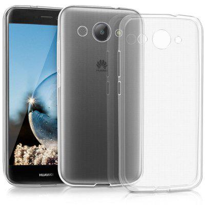 Transparent Soft TPU Clear Phone Case Cover for HUAWEI Y3 2017 redlai colors crystal clear laptop case