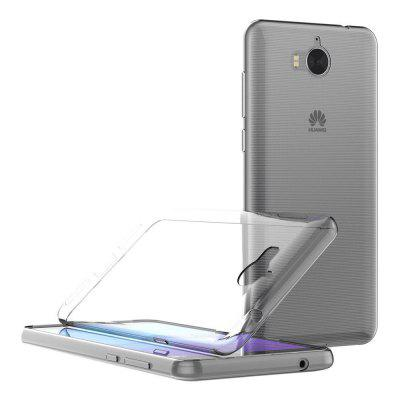 Transparent Soft TPU Clear Phone Case Cover for HUAWEI Y5 2017 / Y6 2017 huawei y6