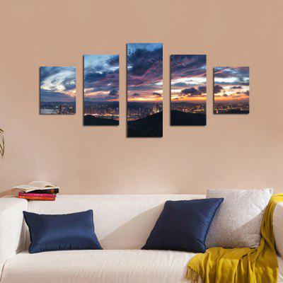 W333 View of the City Unframed Wall Canvas Prints for Home Decorations 5PCSPrints<br>W333 View of the City Unframed Wall Canvas Prints for Home Decorations 5PCS<br><br>Craft: Print<br>Form: Five Panels<br>Material: Canvas<br>Package Contents: 5 x Prints<br>Package size (L x W x H): 35.00 x 5.00 x 5.00 cm / 13.78 x 1.97 x 1.97 inches<br>Package weight: 0.2700 kg<br>Painting: Without Inner Frame<br>Product size (L x W x H): 30.00 x 80.00 x 1.00 cm / 11.81 x 31.5 x 0.39 inches<br>Product weight: 0.2630 kg<br>Shape: Vertical<br>Style: Artistic Style, Chic &amp; Modern, Fashion, Novelty<br>Subjects: Landscape<br>Suitable Space: Living Room,Bedroom,Dining Room,Office,Hotel,Cafes,Study Room / Office