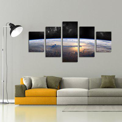 W339 Horizon Scenery Unframed Wall Canvas Prints for Home Decorations 5PCSPrints<br>W339 Horizon Scenery Unframed Wall Canvas Prints for Home Decorations 5PCS<br><br>Craft: Print<br>Form: Five Panels<br>Material: Canvas<br>Package Contents: 5 x Prints<br>Package size (L x W x H): 35.00 x 5.00 x 5.00 cm / 13.78 x 1.97 x 1.97 inches<br>Package weight: 0.2700 kg<br>Painting: Without Inner Frame<br>Product size (L x W x H): 30.00 x 80.00 x 1.00 cm / 11.81 x 31.5 x 0.39 inches<br>Product weight: 0.2630 kg<br>Shape: Vertical<br>Style: Artistic Style, Chic &amp; Modern, Fashion, Novelty<br>Subjects: Landscape<br>Suitable Space: Living Room,Bedroom,Dining Room,Office,Hotel,Cafes,Study Room / Office