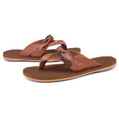 Summer Beach Clip Toe Mens SlippersMens Slippers<br>Summer Beach Clip Toe Mens Slippers<br><br>Available Size: 39-44<br>Embellishment: Ruched<br>Gender: For Men<br>Outsole Material: Plastic<br>Package Contents: 1 x shoes(pair)<br>Pattern Type: Solid<br>Season: Summer<br>Slipper Type: Outdoor<br>Style: Fashion<br>Upper Material: Microfiber<br>Weight: 2.0160kg