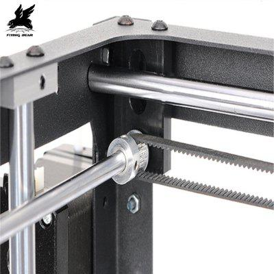 Flyingbear P905 Large Printing Size Auto Leveling  DIY 3D Printer3D Printers, 3D Printer Kits<br>Flyingbear P905 Large Printing Size Auto Leveling  DIY 3D Printer<br><br>Certificate: CE,RoHs,LVD,PSE<br>Language: English,Chinese<br>Nozzle quantity: Single<br>Package size: 54.00 x 40.00 x 16.00 cm / 21.26 x 15.75 x 6.3 inches<br>Package weight: 11.0000 kg<br>Packing Contents: 1 x P905 Printer, 1 x Filament,1 x 4GB SD Card, 1 x Tool Set, 1 x 0.3 Nozzle<br>Packing Type: unassembled packing<br>Product size: 34.80 x 34.00 x 38.50 cm / 13.7 x 13.39 x 15.16 inches<br>Product weight: 10.5000 kg<br>Type: DIY, Metal