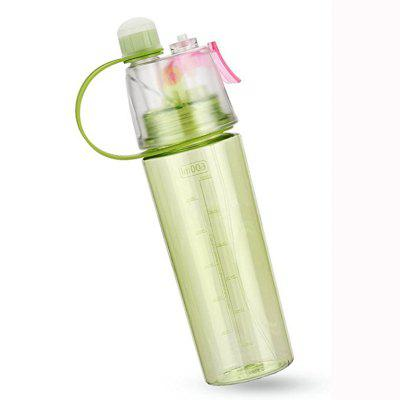 Water Bottle Insulated Bottle with Spray Mist for Outdoor Sport Hydration 1l insulated stainless steel water bottle with push button sky blue