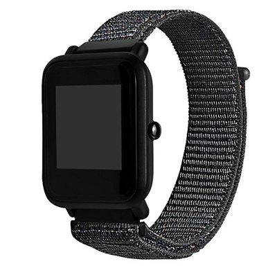 Nylon Sport Loop Watch Bracelet Strap Band for Amazfit Bip Ticwatch 2Smart Watch Accessories<br>Nylon Sport Loop Watch Bracelet Strap Band for Amazfit Bip Ticwatch 2<br><br>Package Contents: 1 x Watch Band<br>Package size: 25.00 x 3.00 x 1.00 cm / 9.84 x 1.18 x 0.39 inches<br>Package weight: 0.0180 kg<br>Product size: 23.20 x 2.00 x 1.00 cm / 9.13 x 0.79 x 0.39 inches<br>Product weight: 0.0160 kg