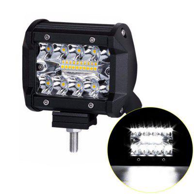 4 Inch DC9V/32V Off-Road Vehicle Three Row LED Work Light Bar brand new universal 40 w 6 inch 12 v led car work light daytime running lights combo light off road 4 x 4 truck light