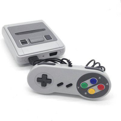 Built-in 621 Classic Game HD TV Video ConsoleHandheld Games<br>Built-in 621 Classic Game HD TV Video Console<br><br>Compatible with: NES, Built-in Games, Game Console<br>Language: English<br>Package Contents: 1 x Game Console , 2 x Gamepad , 1 x HDMI Cable  , 1 x Charger , 1 x User Manual , 1 x Package Box<br>Package size: 22.00 x 17.00 x 7.50 cm / 8.66 x 6.69 x 2.95 inches<br>Package weight: 0.7500 kg<br>Pre-positioned Games Number: 621<br>Product size: 13.00 x 10.00 x 4.50 cm / 5.12 x 3.94 x 1.77 inches<br>Product weight: 0.5200 kg