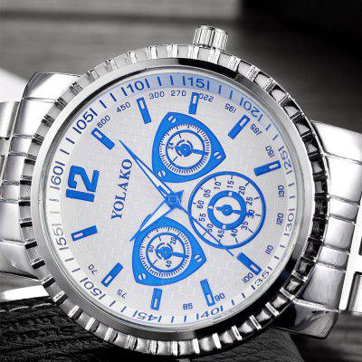 Large Dial Creative Quartz Stainless Steel Dress WatchMens Watches<br>Large Dial Creative Quartz Stainless Steel Dress Watch<br><br>Band material: Stainless Steel<br>Band size: 24X2CM<br>Case material: Stainless Steel<br>Clasp type: Sheet folding clasp<br>Dial size: 4X4X1.2CM<br>Display type: Analog<br>Movement type: Quartz watch<br>Package Contents: 1 x Watch,1 x Box<br>Package size (L x W x H): 8.00 x 8.00 x 8.00 cm / 3.15 x 3.15 x 3.15 inches<br>Package weight: 0.0800 kg<br>Product size (L x W x H): 24.00 x 4.00 x 1.20 cm / 9.45 x 1.57 x 0.47 inches<br>Product weight: 0.0500 kg<br>Shape of the dial: Round<br>Watch mirror: Mineral glass<br>Watch style: Business, Fashion, Casual<br>Watches categories: Men<br>Water resistance: 10 meters